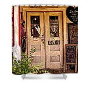 Happy Happie Cottage Haven Shower Curtain