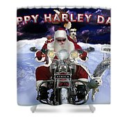 Happy Harley Days Shower Curtain