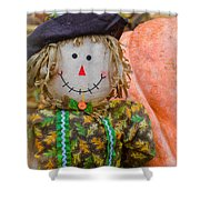 Happy Harvest Time Shower Curtain
