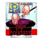 Happy Holidays 41 Shower Curtain