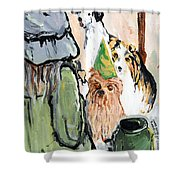 Happy Hour At County Road 120 Shower Curtain