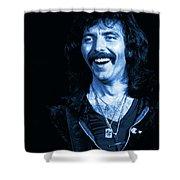 Happy Iommi Blues Shower Curtain