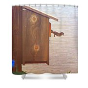 Happy Jump Day Shower Curtain
