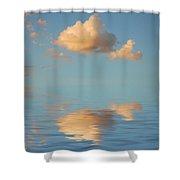 Happy Little Cloud Shower Curtain
