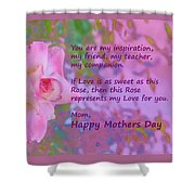 Happy Mothers Day 2 Shower Curtain