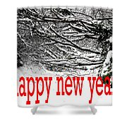 Happy New Year 33 Shower Curtain