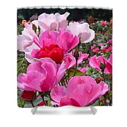 Happy Pinks Shower Curtain
