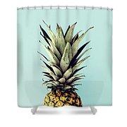 Happy Pinneaple Shower Curtain