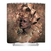 Happy Times Times From Yesterday Shower Curtain