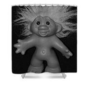 Happy Troll Shower Curtain