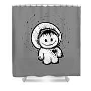 Happypants Shower Curtain