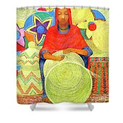 Harar Lady 2 Shower Curtain