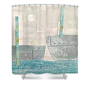 Harbor 4 Shower Curtain