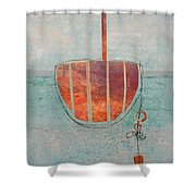 Harbor 6 Shower Curtain