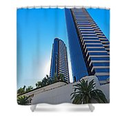 Harbor Club Towers Shower Curtain