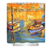 Harbor Day Shower Curtain