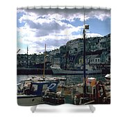 Harbor II Shower Curtain