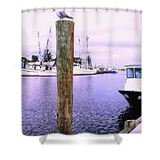 Harbor Master Shower Curtain