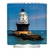 Harbor Of Refuge Delaware Shower Curtain