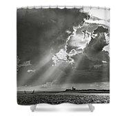 Harbor Sail Shower Curtain