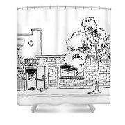 Harbor Street - North Shower Curtain
