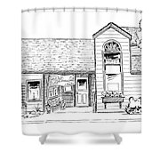 Harbor Street - South Shower Curtain