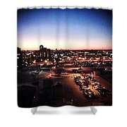 Harbor Town Shower Curtain