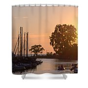 Harbor View 11 Shower Curtain