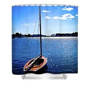 Harbor View 2 Shower Curtain