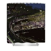 Harbour At Night Shower Curtain