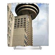 Harbour Centre Vancouver Shower Curtain