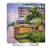 Harbour Island Retreat Shower Curtain