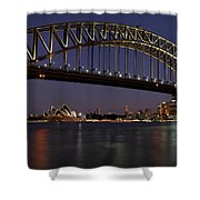 Harbour Lights Shower Curtain