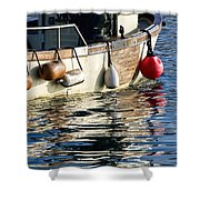Harbour Reflections 3 - June 2015 Shower Curtain