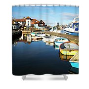 Harbour Side  Shower Curtain