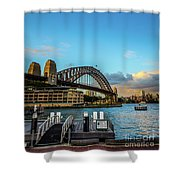 Harbour Sky Shower Curtain