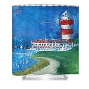 Harbour Town 18 Shower Curtain