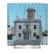 Harbourmasters Office Shower Curtain