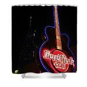 Hard Rock Cafe Shower Curtain