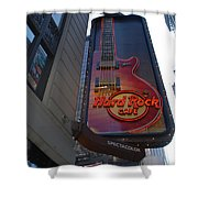 Hard Rock Cafe N Y C Shower Curtain by Rob Hans
