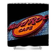 Hard Rock Hollywood Shower Curtain