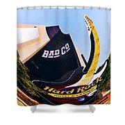 Hard Rock Tower Shower Curtain