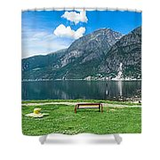 Hardangerfjord Shower Curtain