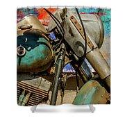 Harley Davidson - American Icon II Shower Curtain