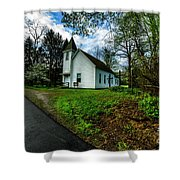 Hardtop And Church Shower Curtain