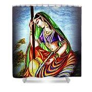 Hare Krishna - Ecstatic Chanting  Shower Curtain