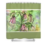 Harebell Shower Curtain
