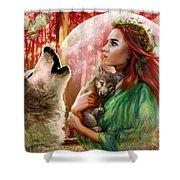 Harest Moon Brethren Variant 2 Shower Curtain
