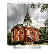 Hargis Hall - Auburn University Shower Curtain