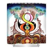 Hari Tao Shower Curtain